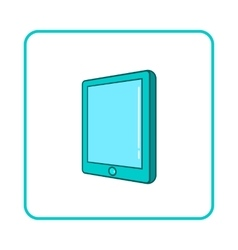 Tablet icon simple style vector image vector image