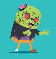 zombie style vector image