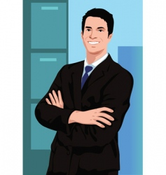 business act vector image