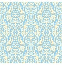 Damask seamless pattern lace vector image