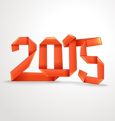 Happy New 2015 year vector image vector image