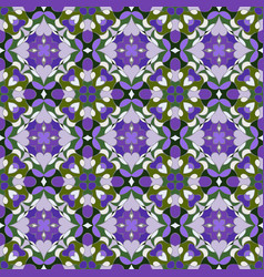 Lilac and green pattern vector