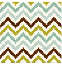 seamless retro zig zag texture pattern vector image