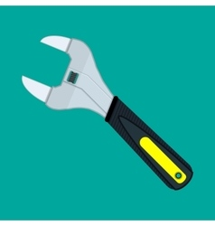 Allen wrench with plastic handle vector image