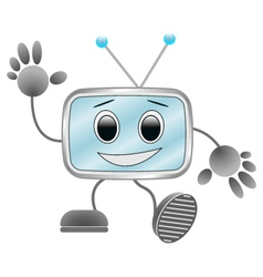 Funny robot vector