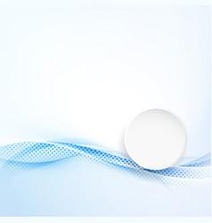 modern abstract brochure folder layout vector image