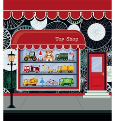 Toy Shop vector image vector image
