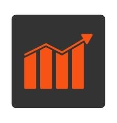 Trend Icon vector image