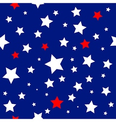 Stars usa flag pattern vector