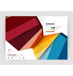 Business annual report abstract backgrounds vector image vector image