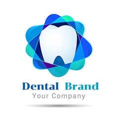 Dental Clean logo design Template for your vector image
