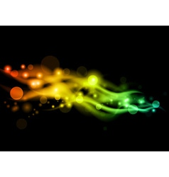neon background vector image vector image