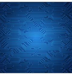 technology microchip background vector image vector image
