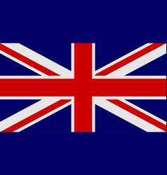 Flag of united kingdom of great britain and vector