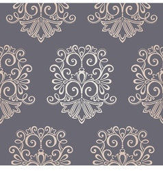 Seamless ornate pattern vector