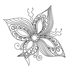 Fantasie flower vector