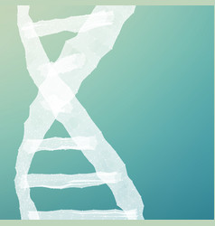 Abstract dna mesh background vector