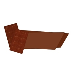 Chocolate bar icon image vector