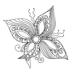 Fantasie Flower vector image vector image