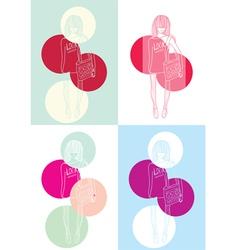 new look set vector image
