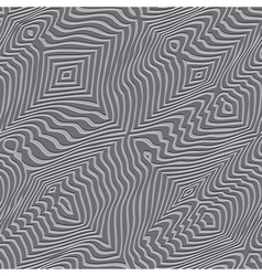 Stripes distortion pattern vector image vector image