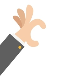 Hand hold gesture icon vector