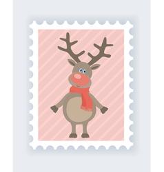 deer mark vector image