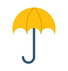 Opened umbrella isolated on vector
