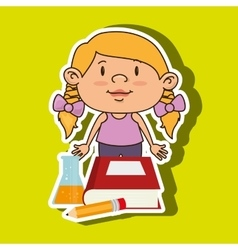 child education design vector image