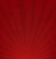 Red Sunburst Cardboard Paper vector image vector image