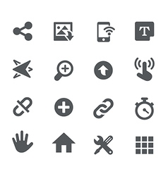 System icons - apps interface vector