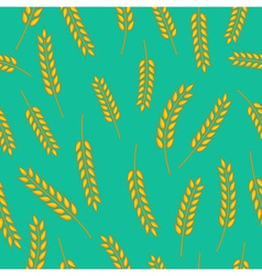 wheat pattern vector image