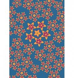 flowers pattern vector image