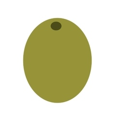 Olive grain isolated icon design vector