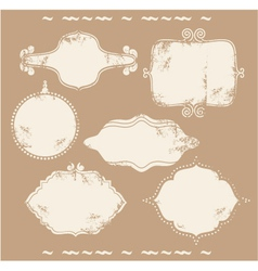 Antique frames vector
