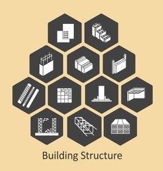 Building structure and bim vector