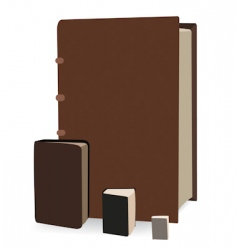 old books vector image
