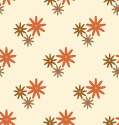 Flowers-pattern-retro-seamless-04 vector