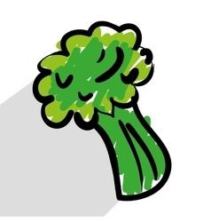 fresh vegetables vector image