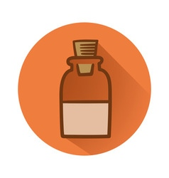 Chemical bottle vector