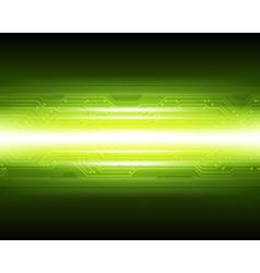 Abstract Techno Microchip Background vector image