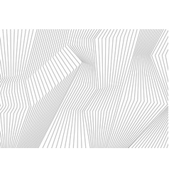 Abstract grey lines refraction background vector