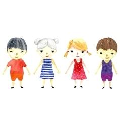 Children art vector image