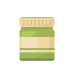 Cream bottle spa product isolated icon vector