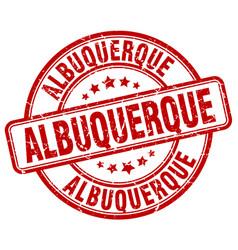 Albuquerque stamp vector