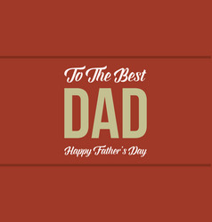 Collection stock father day flat vector