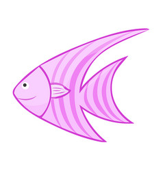 Fish isolated vector