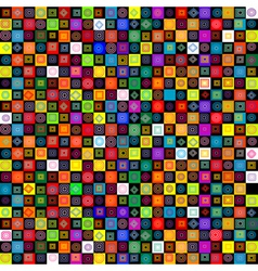 geometrical shapes vector image