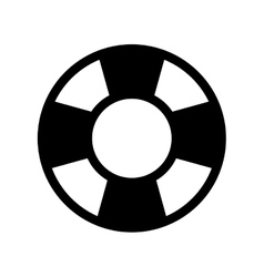 Nautical float icon vector