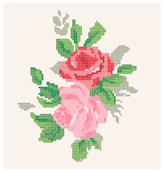 Roses artwork vector image
